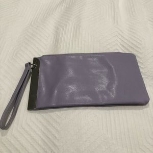 The Limited Purple Wristlet with Silver Detail